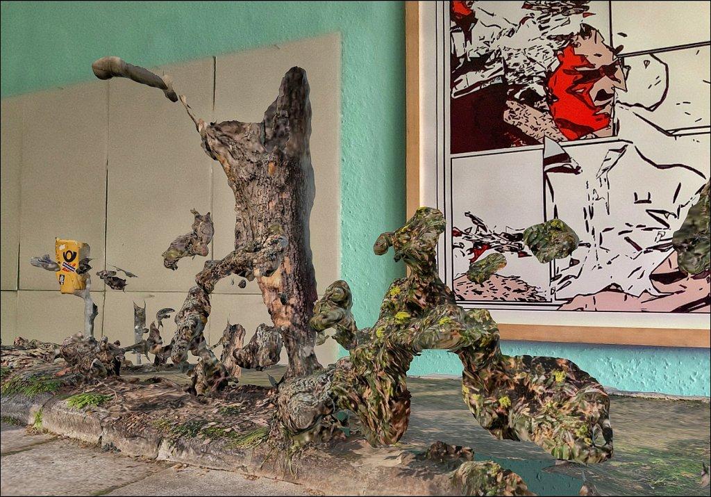 Baum und Busch am Berliner Dom